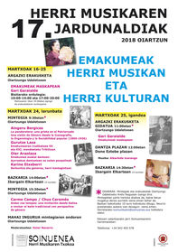 17TH CONFERENCE ON POPULAR MUSIC: WOMEN WITHIN TRADITIONAL MUSIC AND CULTURE